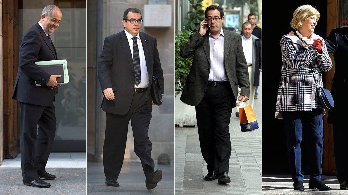 El fiscal acusa de blanqueig quatre exconsellers de CDC