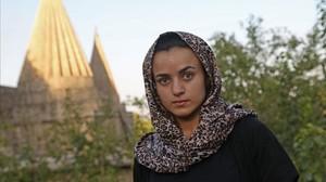 Ashwaq Haji fue secuestrada por el Estado Islámico en Irak.