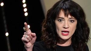 Asia Argento, en la clausura del Festival de Cannes.