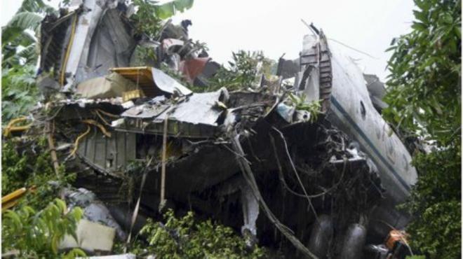 Un avión con al menos 40 personas a bordo se ha estrellado a las afuras de la capital de Sudán del Sur.