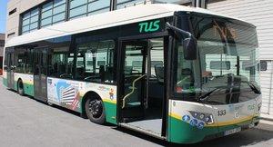 Imagen de archivo de un autobús de Sabadell.