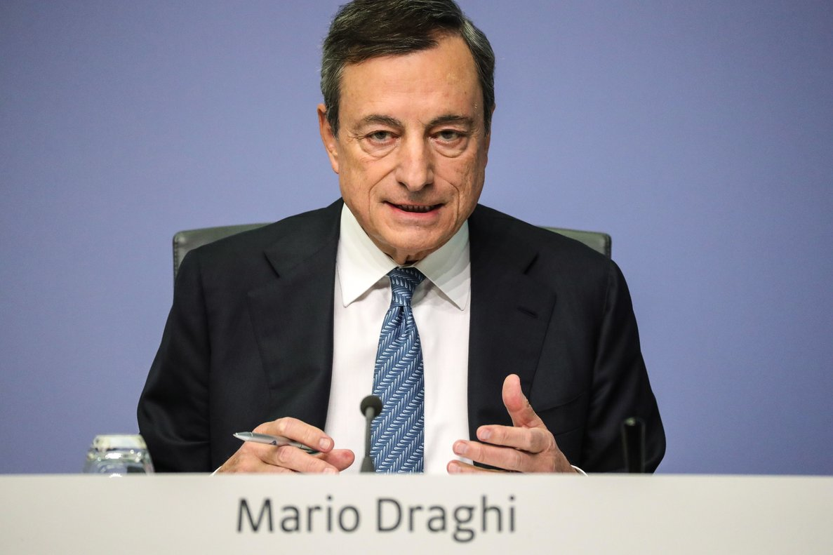 Mario Draghi, presidente actual del Banco Central Europeo (BCE), en una foto de archivo.