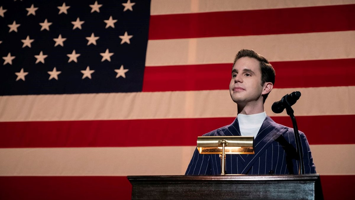 Ben Platt, en un fotograma de 'The politician'