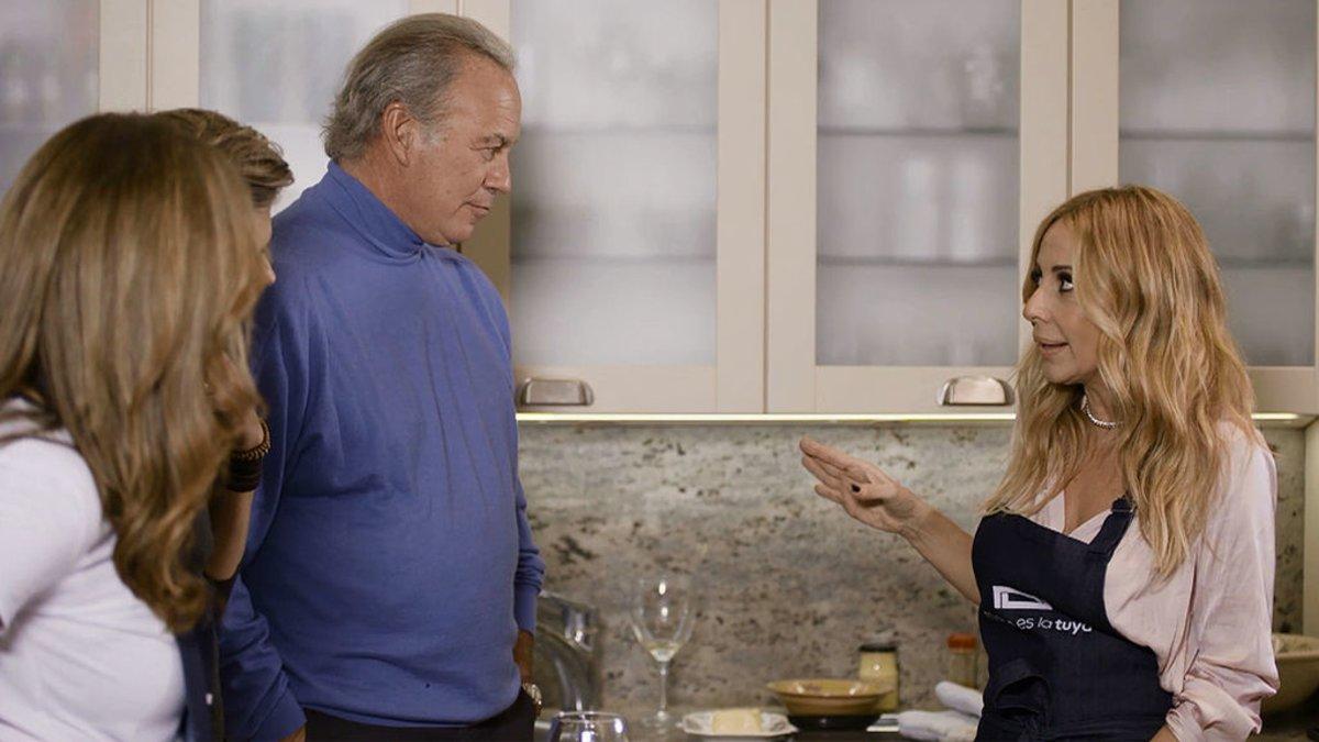 Bertín Osborne y Marta Sánchez en 'Mi casa es la tuya'.