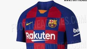 El Barça jugarà la temporada que ve amb una samarreta d'estil tauler d'escacs