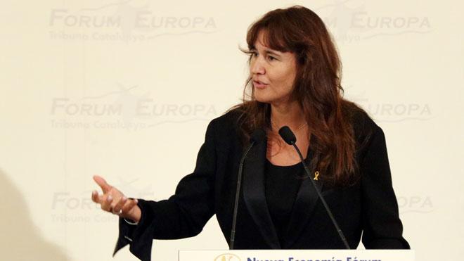 La consellera Borràs destaca que lArts Santa Mònica acogerá una exposición coincidiendo con el 1-O.