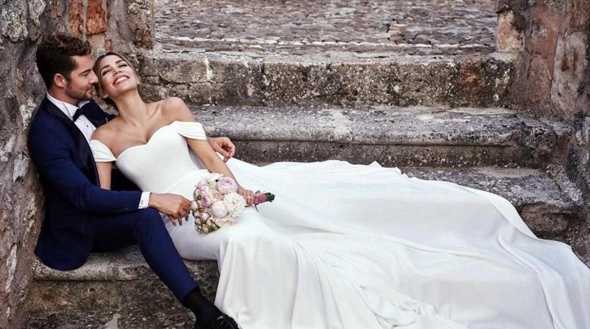 David Bisbal y Rosana Zanetti contraen matrimonio en una 'discreta' boda