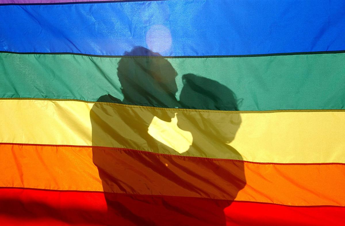 La bandera arcoíris, en una imagende archivo.