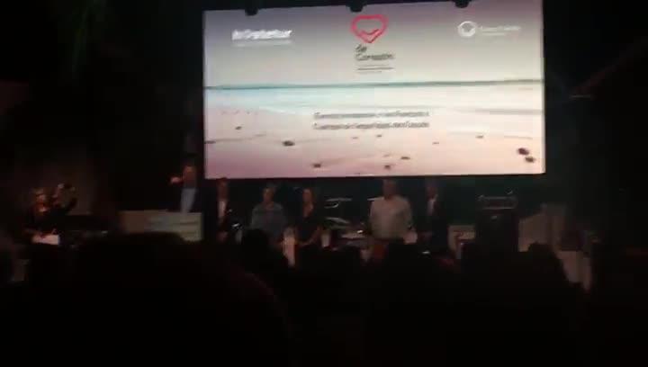 Discurs del delegat del Govern a Múrcia,Francisco Bernabé, als policies i guàrdies civils de l1-O