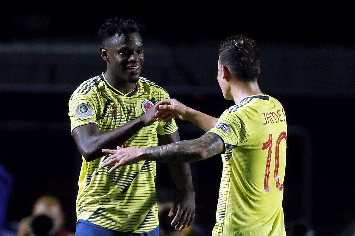 Duván Zapata fue el héroe colombiano para que su selección clasifique a Cuartos de Final.