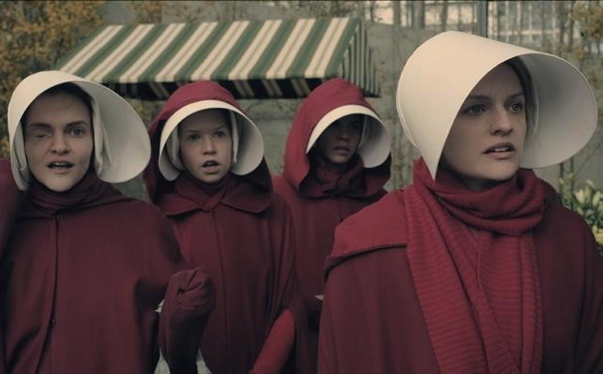 Una escena de la serie de televisión El cuento de la criada.