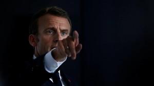 El presidente francés Emmanuele Macron.
