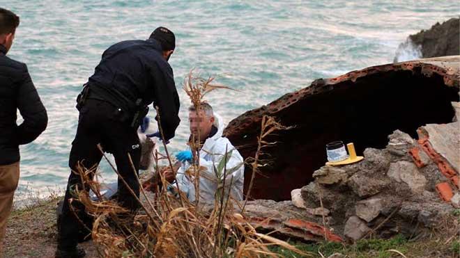 Encontrado el cuerpo carbonizado de una mujer en Ceuta.