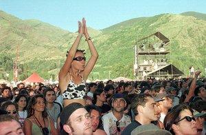 Público del Doctor Music en Escalarre.