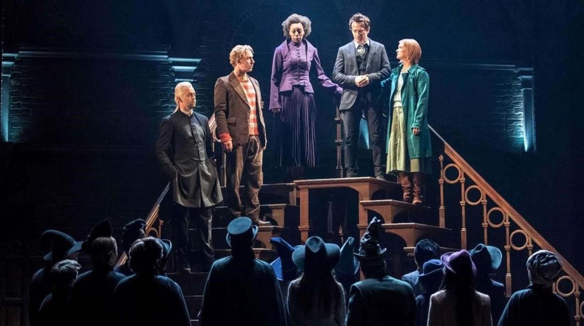 Escena de los ensayos de 'Harry Potter and the cursed child'