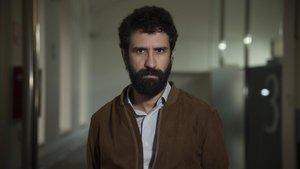 El escritor francés de origen argelino Sabri Louatah, en Barcelona.