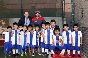 El Espanyol ensalza su academia en los Emiratos Árabes