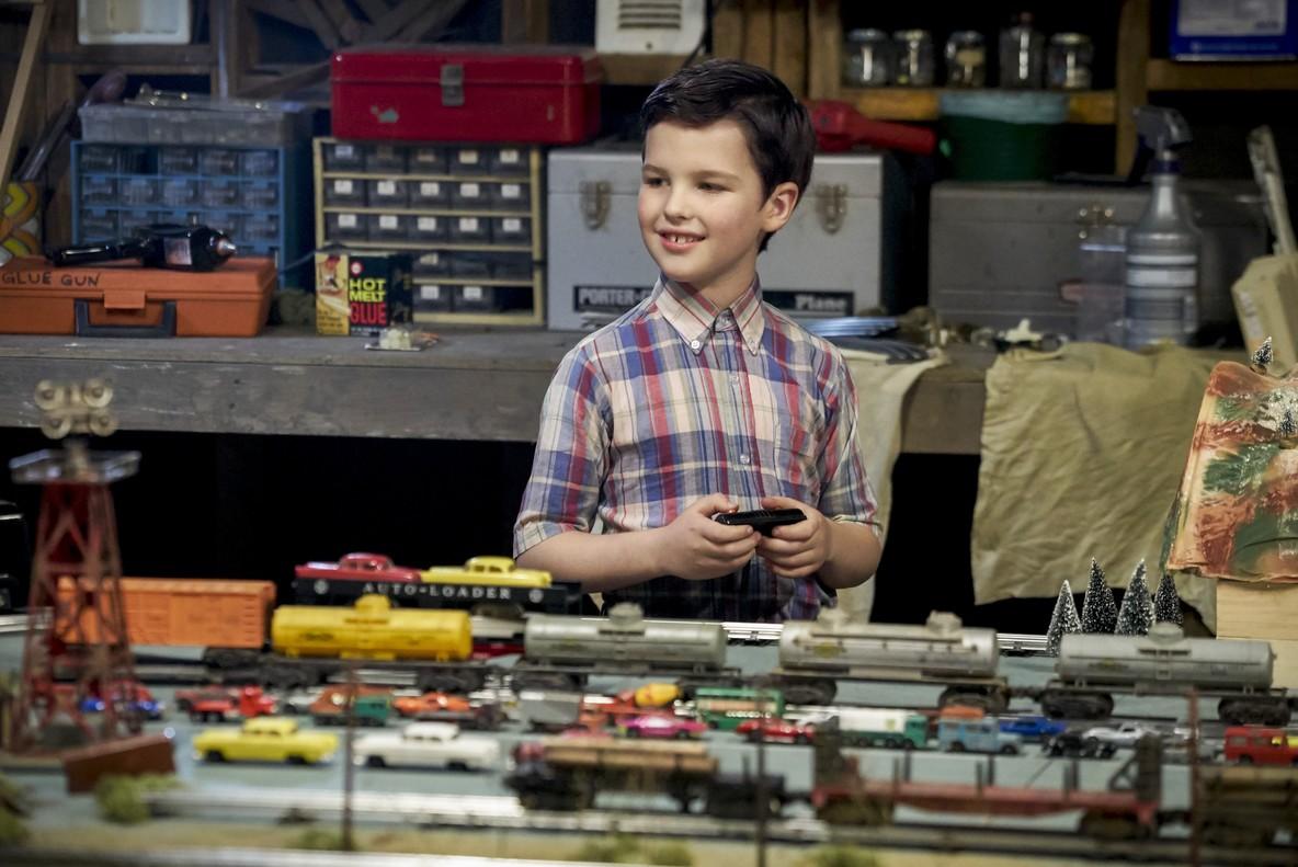 Movistar Series estrena El joven Sheldon.