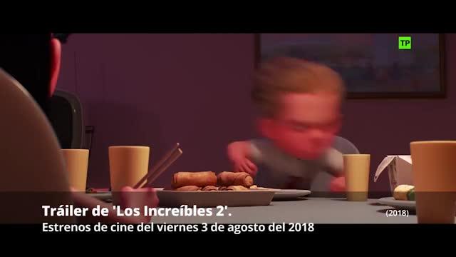 Tráiler de Los Increíbles 2 (2018).