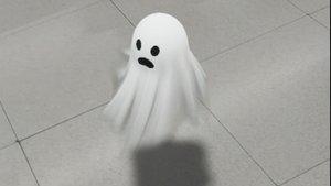 El fantasma en 3D que Google ofrece a sus usuarios gracias a la realidad aumentada.