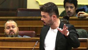 """Rufián i Zaragoza critiquen Colomines per dir que una independència sense morts """"tarda més"""""""
