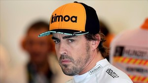 Fernando Alonso, piloto de McLaren-Renault.