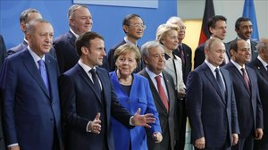 Foto de familia de los asistentes a la cumbre.