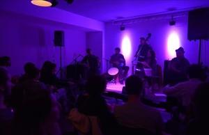 Actuación de Gipsy Balkan en Freedonia, este miércoles.