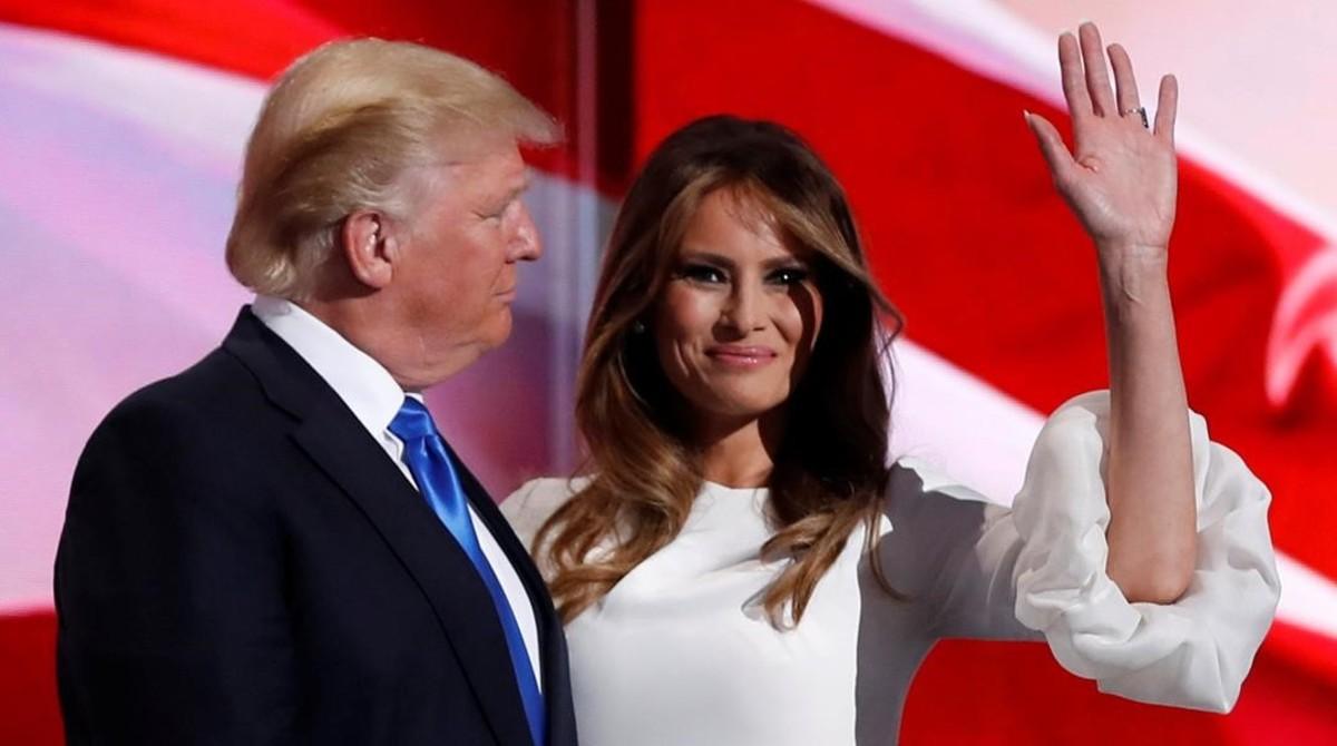 Melania y Donald Trump, el pasado 18 de julio.