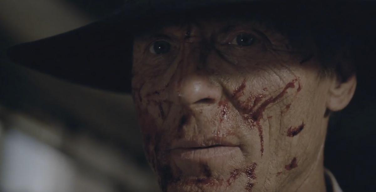 Ed Harris, en la segunda temporada de Westworld.