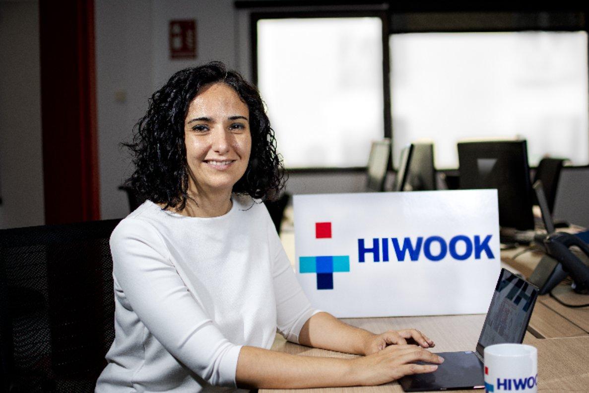María Gutiérrez, fundadora y CEO de HIWOOK. Wildcom