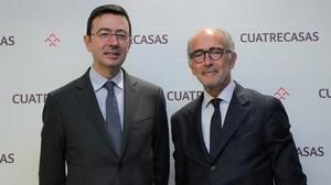 Cuatrecasas nomena president Rafael Fontana i Jorge Badía nou conseller delegat