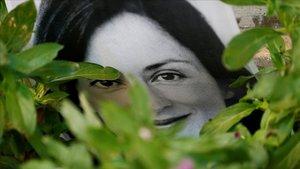 Imagen de Daphne Caruana, periodista maltesa asesinada.