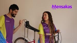 Imagen promocional del colectivo Mensakas