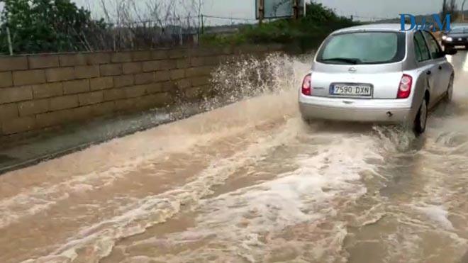 Inundación Son Carrió en Mallorca