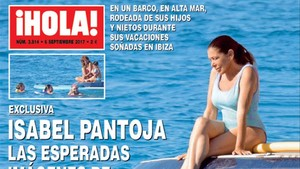 Isabel Pantoja, en la portada de Hola!.