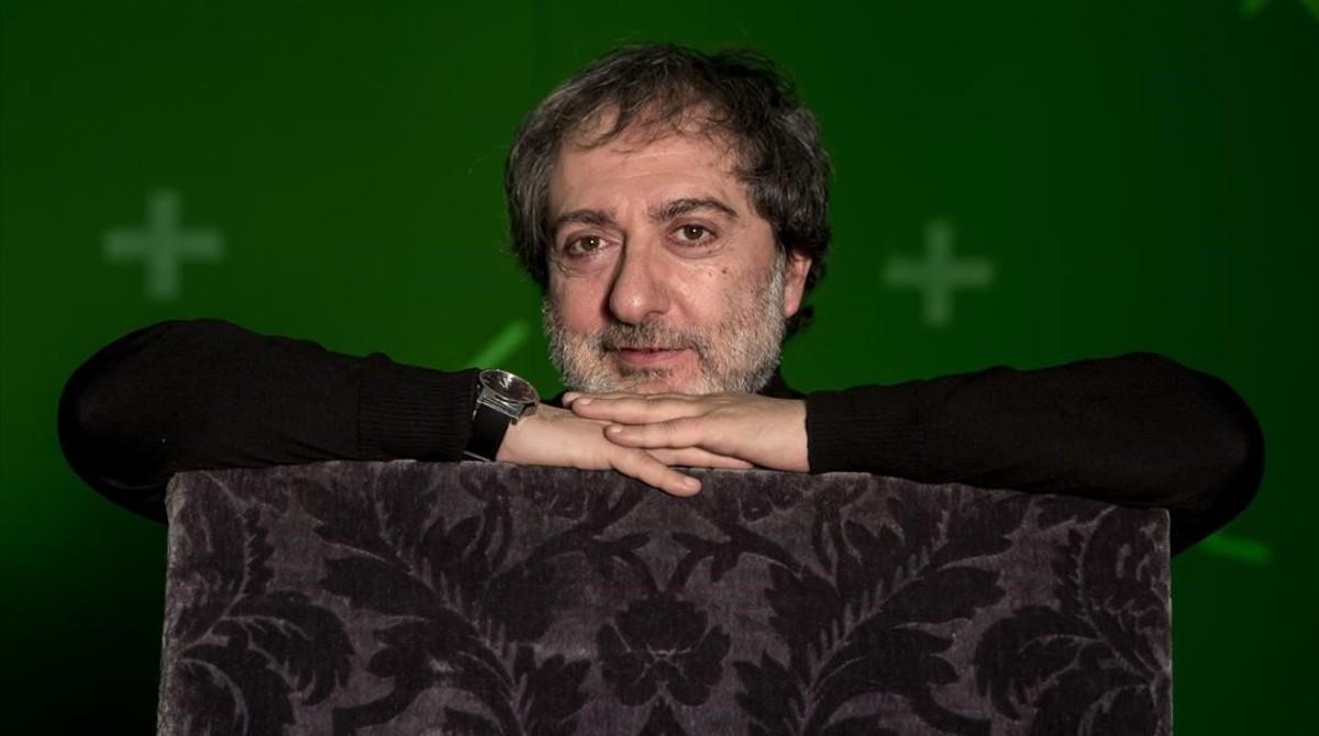 El escritor y guionista Javier Olivares.