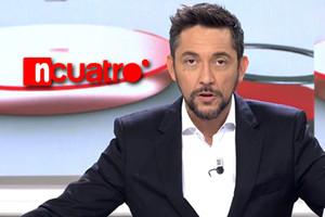 'Noticias Cuatro 2', el nuevo destino de Javier Ruiz tras la cancelación de 'Las mañanas de Cuatro'