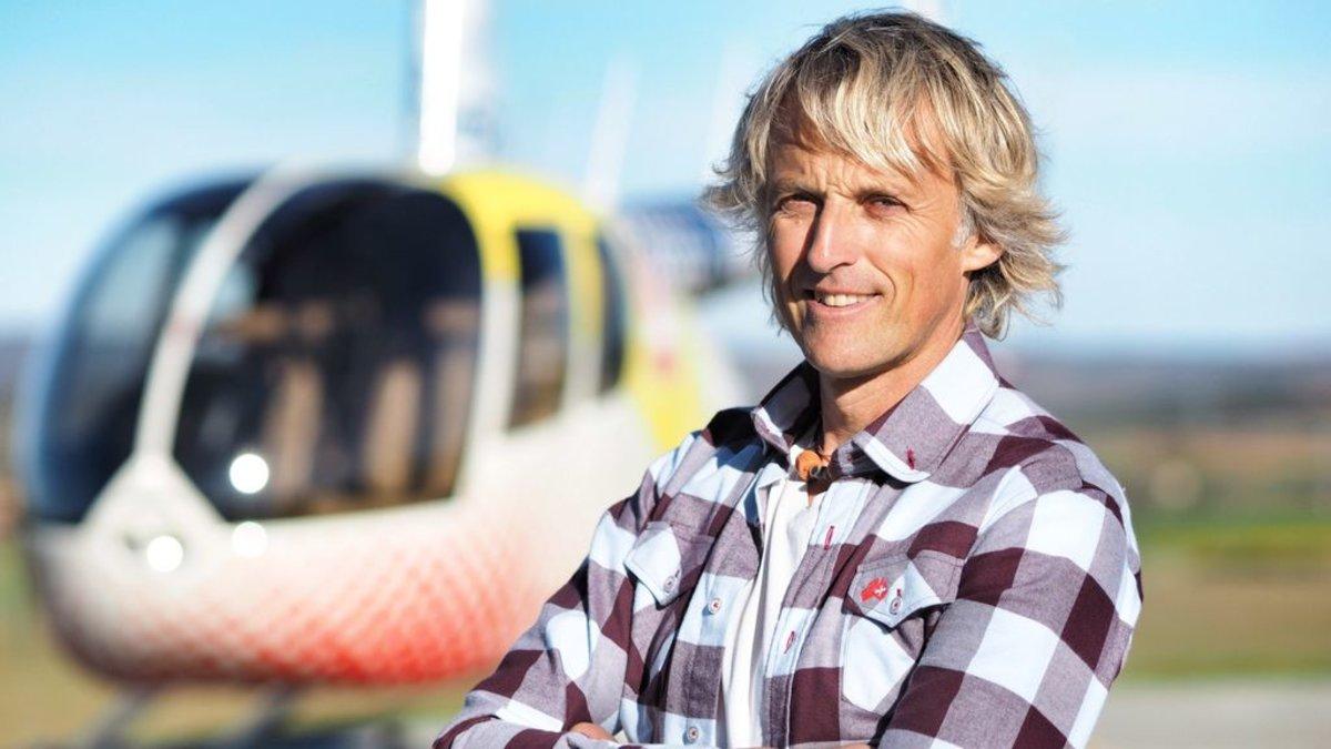 Jesús Calleja, presentador de Volando voy en Cuatro.
