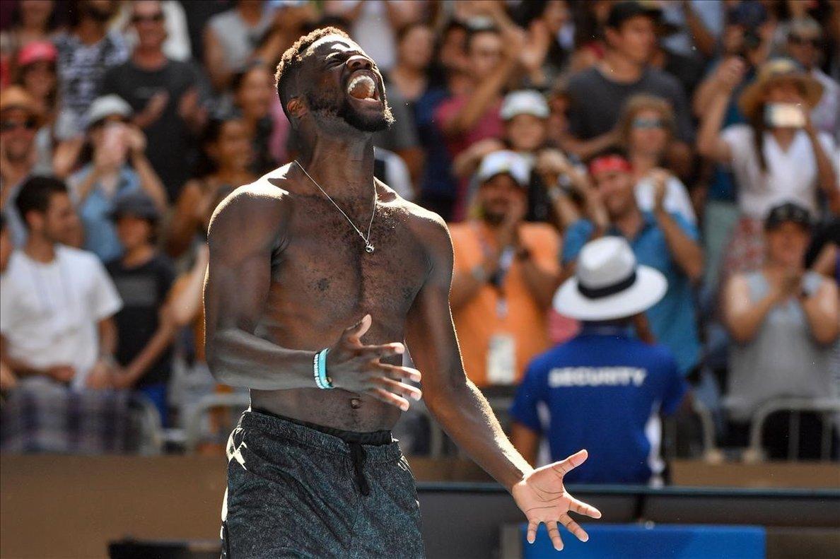 El tenistaTiafoe, en una foto de archivo.