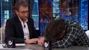 Jordi Évole sufre un principio de cataplexia durante su visita a 'El hormiguero'