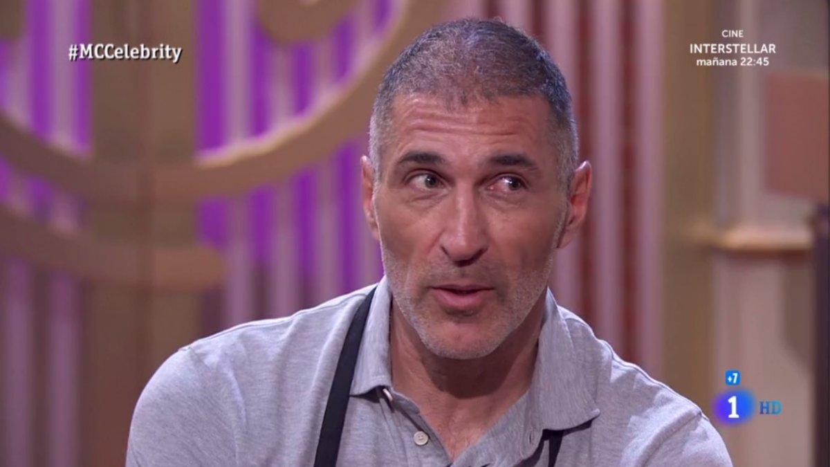 José Miguel Antúnez, segundo expulsado de 'Masterchef Celebrity 4'.