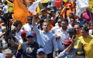 Juan Guaidó, líder opositor venezolano.