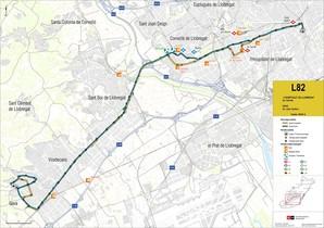 Milloren la freqüència de les línies d'autobusos que connecten Gavà i l'Hospitalet