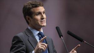 Casado promet suprimir l'impost sobre les hipoteques si és president del Govern