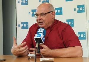 Lluis Rabell, durante la entrevista con la agencia Efe.