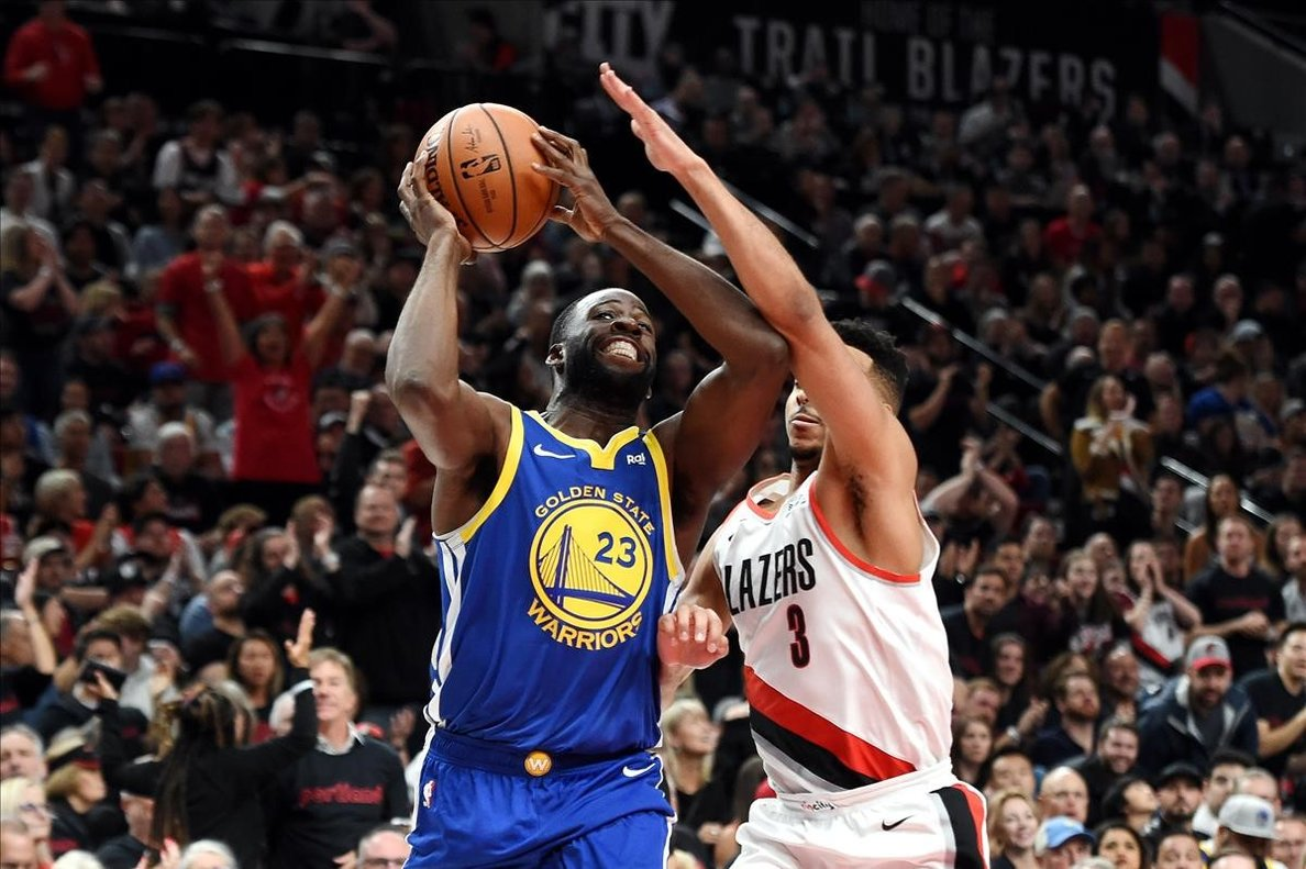 Draymond Green acosta els Warriors a la final