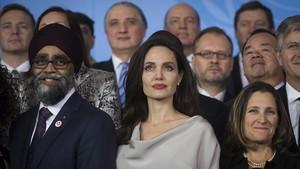 Angelina Jolie, en Vancouver.