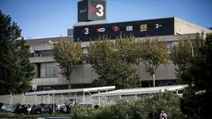 Los estudios centrales de TV-3 en Sant Joan Despí