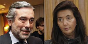 Los jueces Enrique López y Concepción Espejel.